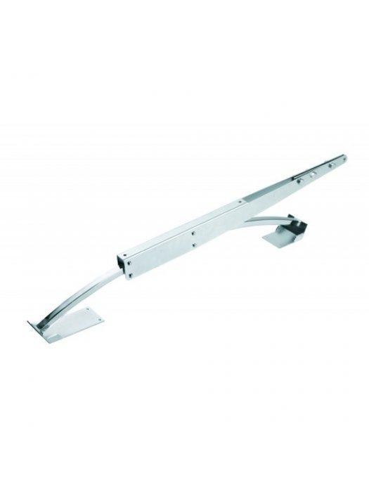 Извито рамо с ролков плъзгач за секционни врати - APRB