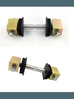 Обтегач за конзолна врата с реглаж за профили с размери 60х60mm или 60x50mm