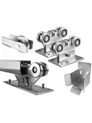 Механизъм за плъзгаща врата до 400 kg Euromatica