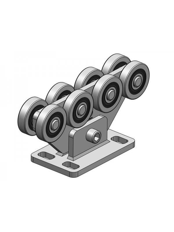 Механизъм с допълнителен държач за плъзгаща врата до 1000 кг + Задвижване Acer 1200 пълен комплект