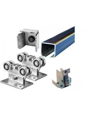 Механизъм за плъзгаща врата до 550 kg Euromatica