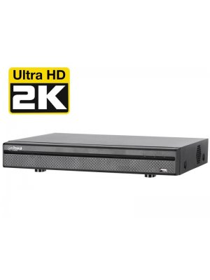 16-канален 4MP (2K) 2xHDD Tribrid DVR Dahua