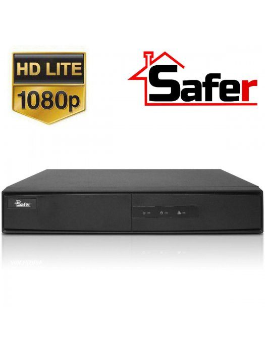 16-канален Pentabrid 1080p Lite (TurboHD/AHD/CVI/IP) DVR Safer