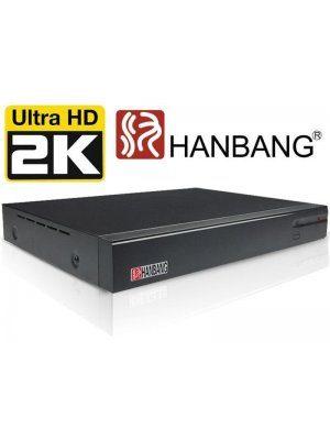 4-канален 4MP (2K) Pentabrid DVR Hanbang