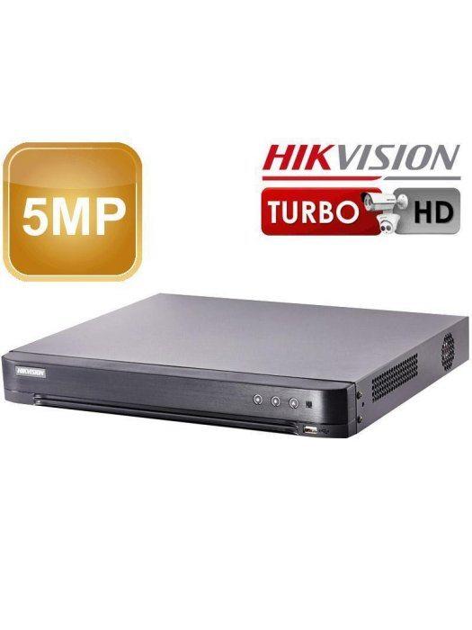 4-канален 5MP 2xHDD Hikvision DVR