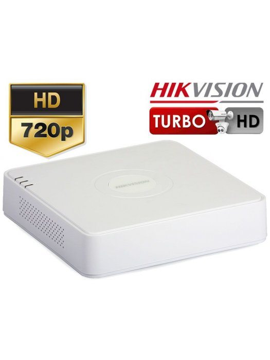 4-канален 720p Turbo HD/AHD Hikvision DVR