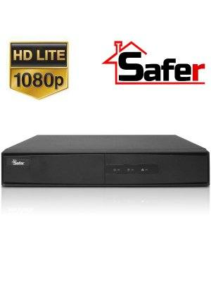 4-канален Pentabrid 1080p Lite (TurboHD/AHD/CVI/IP) DVR Safer