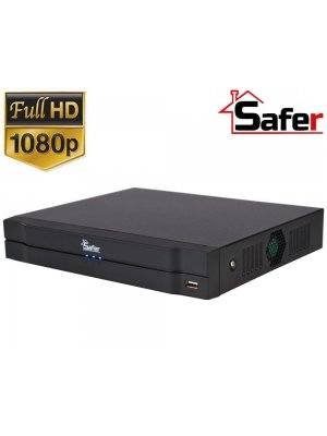 8-канален Pentabrid DVR 1080p Safer SAF-8X-1080