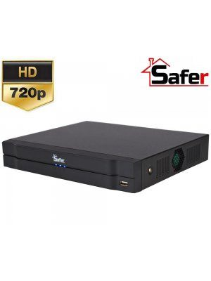 8-канален Pentabrid DVR 720p Safer SAF-8X-720