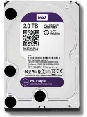 Хард диск Western Digital Purple 2 TB