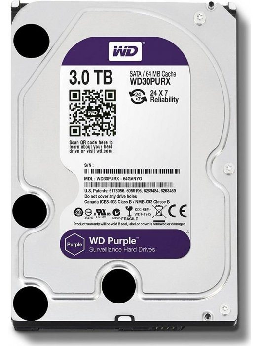 Хард диск Western Digital Purple 3 TB