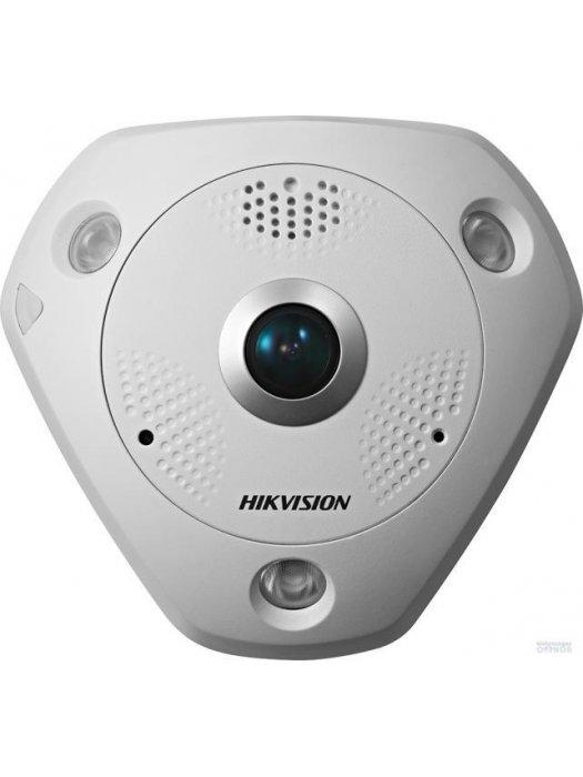 6 MP панорамна IP камера за видеонаблюдение Hikvision DS-2CD6362F-IVS