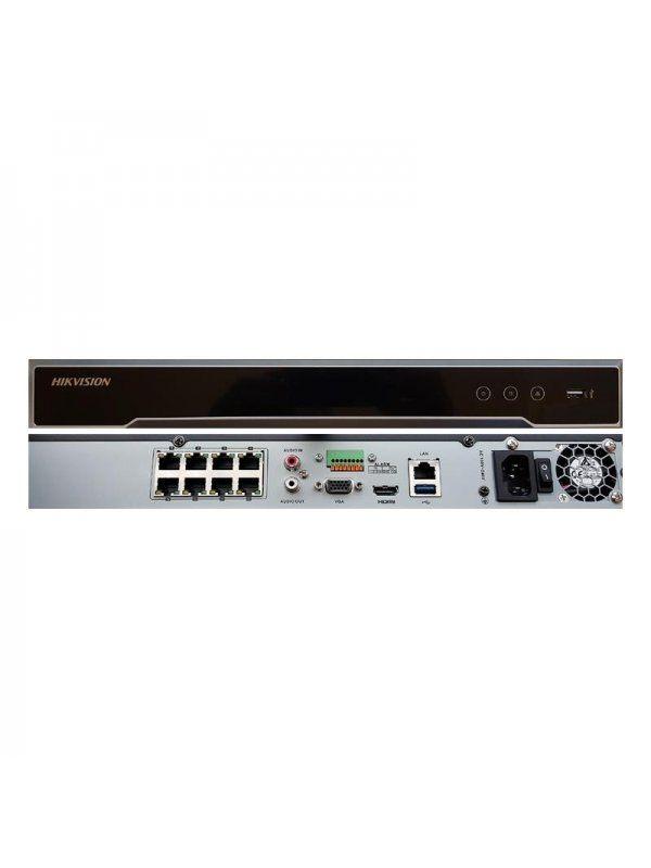 8-канален NVR Hikvision DS-7608NI-I2/8P (5K)