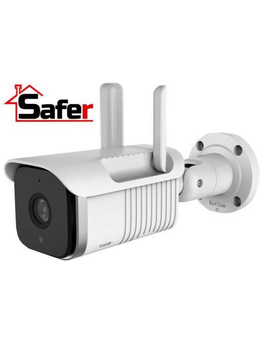 1.3 MP безжична IP камера за видеонаблюдение с микрофон Safer SAF-S6