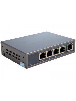 4-канален суич за захранване на PoE IP камери Euromatica CPE-4104
