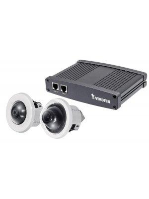 Двойна 1 MP IP камера за видеонаблюдение VIVOTEK VC8201-M11-5M