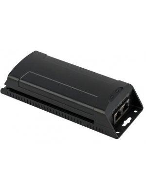 2-канален инжектор за захранване на PoE IP камери Safer UTP7201GE-PSE30