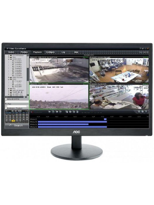 Монитор за видеонаблюдение AOC E2270SWHN