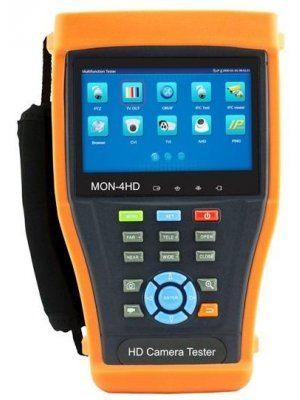 IP/HDTVI/HDCVI/AHD/ANALOG тестер за видеокамери Euromatica CIPC-43ADH