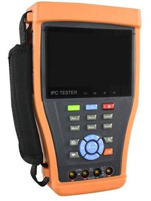 IP/HDTVI/HDCVI/AHD тестер за видеокамери Safer TESTER4-5N1-4M