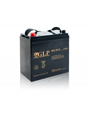 AGM Акумулатор 55 Ah Global Leader Power GLP 55-12
