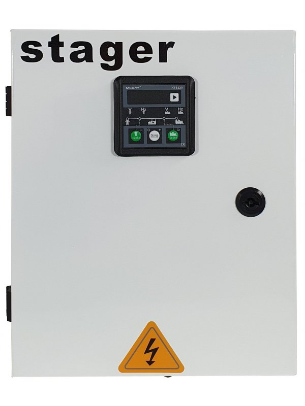 Монофазен безшумен дизелов генератор 4.2kW - Stager 18A, 3000rpm