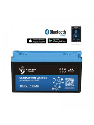 Литиево-йонен акумулатор 100Ah ULTIMATRON FRANCE LiFePO4 Smart Bluetooth BMS