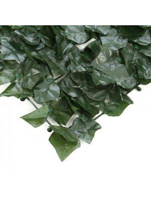 Изкуствен жив плет тип Бръшлян - 100 x 300 cm - Euromatica