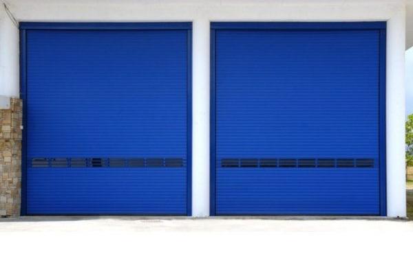 Монтаж на индустриални врати